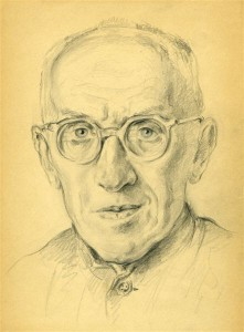 И.С. Гохман. Абезь. 1951(?).